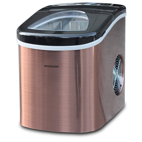 Frigidaire EFIC117-SSCOPPER-COM Stainless Steel Ice Maker Medium Copper