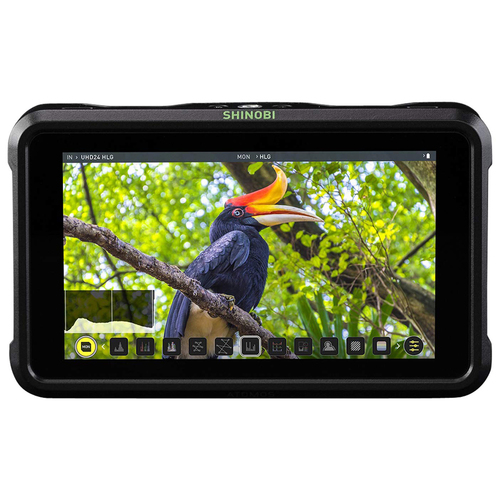 Atomos Shinobi 5.2` 4K HDMI Monitor IPS Touchscreen Full HD HDR Photo and Video Monitor