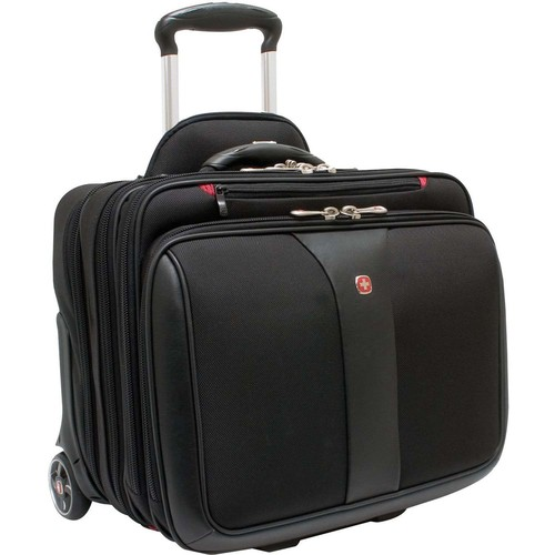 Swiss Gear Patriot 2-Piece Wheeled Computer and Laptop Carrying Case WA-7953-02F00