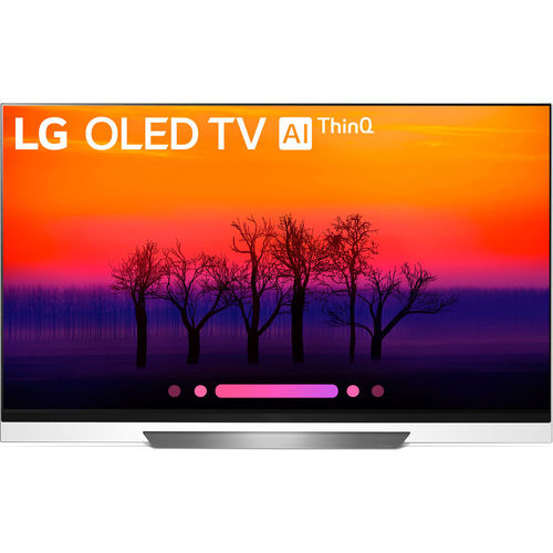 LG OLED55E8PUA 55` Class E8 OLED 4K HDR AI Smart TV (2018 Model)
