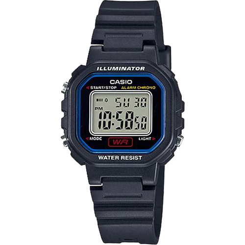 Casio Ladies Color Digital Watch Blk