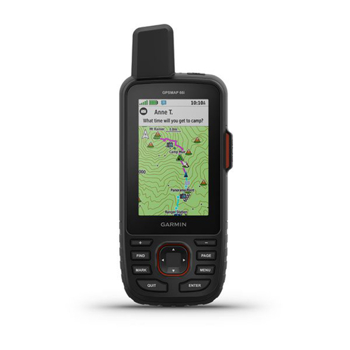 Garmin GPSMAP 66i GPS Handheld and Satellite Communicator - (010-02088-01)