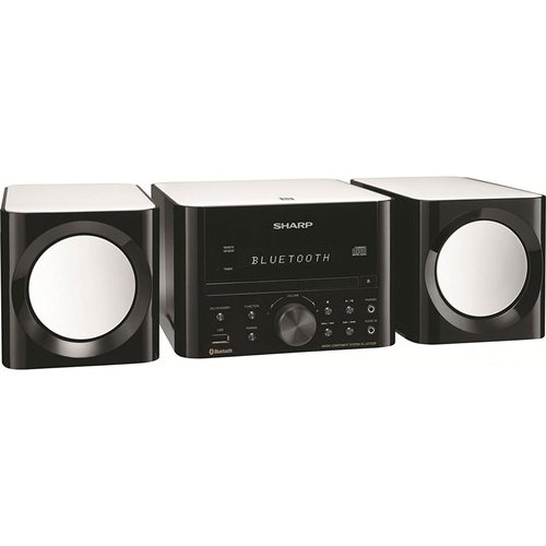 Sharp XL-LS703B Bluetooth Speaker System - Gloss Black - Open Box