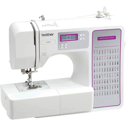 Brother 80-Stitch Computerized Sewing Machine - CS8800PRW - Open Box