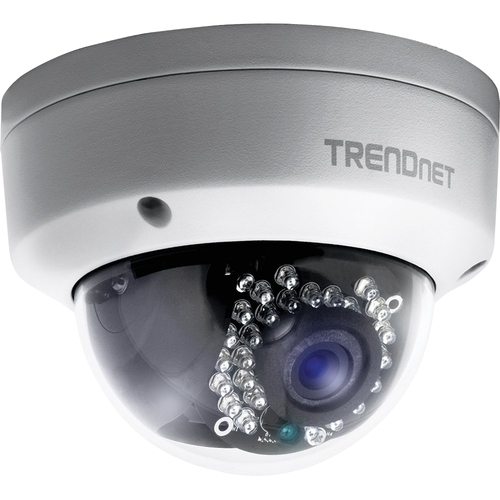 TRENDnet Outdoor 1.3 MP HD PoE Dome IR Network Camera - TV-IP321PI - Open Box