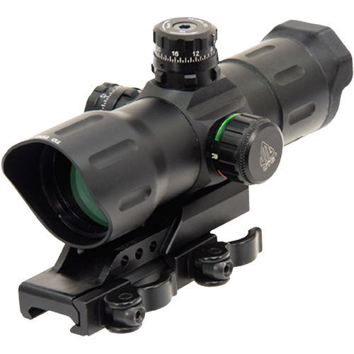 UTG 6` ITA Red/Green CQB T-dot Sight with Offset QD Mount - SCP-TDTDQ - Open Box