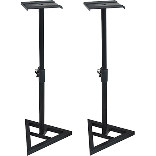 Deco Mount Pair of PA Speaker Stands Holds up to 10` Speakers - SS3518-K - Open Box