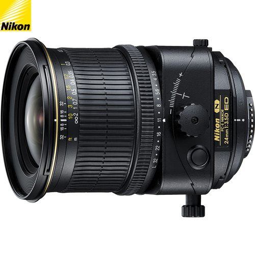 Nikon PC-E FX Full Frame NIKKOR 24mm f/3.5D ED Lens - Renewed