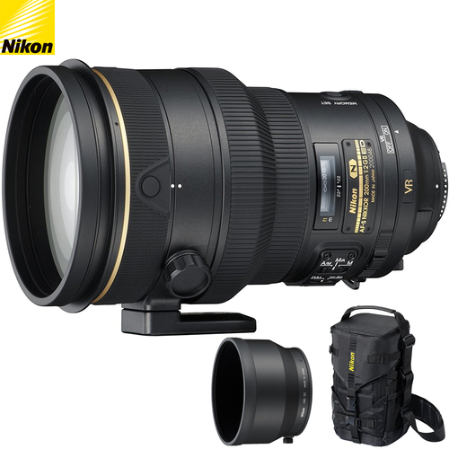Nikon AF-S NIKKOR 200mm f/2G ED VR II Vib Reduction Prime Telephoto Lens - Renewed