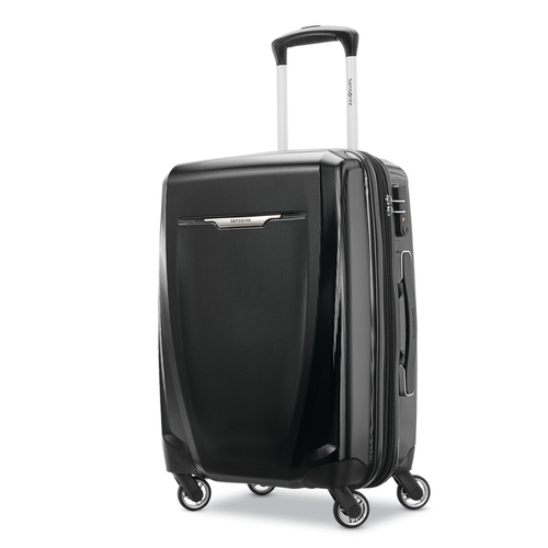 Samsonite Winfield 3 DLX Spinner Hardside Luggage 20` Carry-On (Black) - (120752-1041)