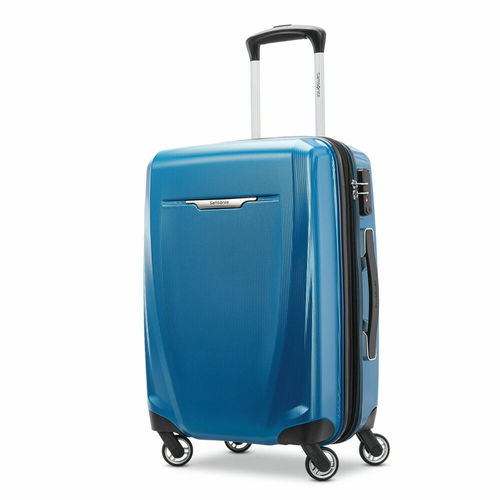 Samsonite Winfield 3 DLX Spinner 25` Checked Luggage - (Blue) - (120753-1112)