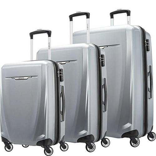 Samsonite Winfield 3 DLX 3 Piece Set (Spinner 20/25/28) - (Silver) (120751-1776)
