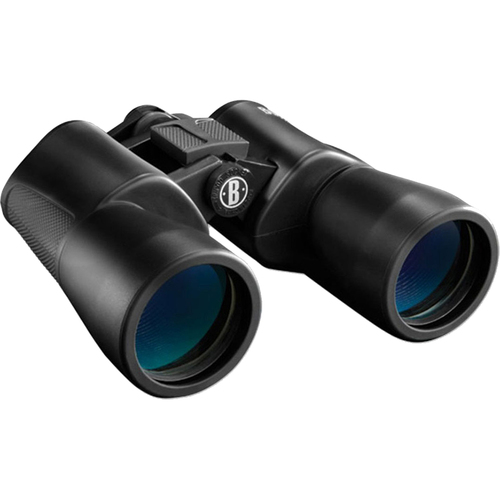 Bushnell 16x50mm Powerview BK-7 Porro Prism Rubber Armored Binoculars (Black) 131650C