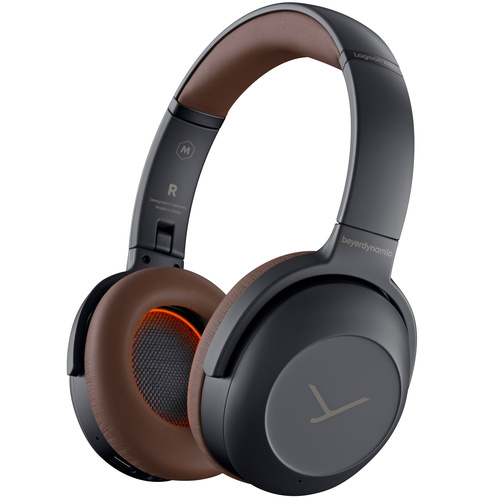 BeyerDynamic Lagoon ANC Explorer Closed-Back Wireless Headphones (Grey/Brown) - 718238