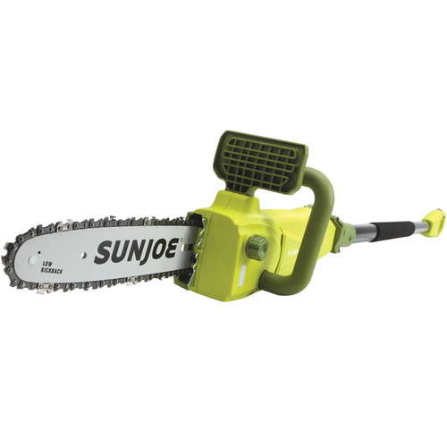 SWJ807E 10 inch 8.0 Amp Electric Convertible Pole Chain Saw (Green)