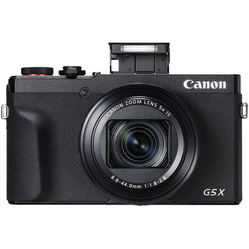 Canon PowerShot G5 X Mark II 20.1MP Digital Camera 5x Optical Zoom f/1.8-2.8 Lens