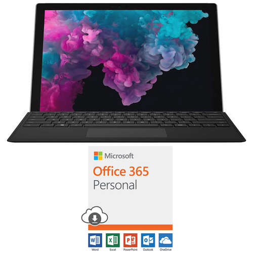 Microsoft Surface Pro 6 12.3` Intel i5-8250U 8GB/128GB w/ Microsoft Office 365 Bundle
