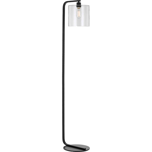 AF Lighting Lowell Floor Lamp 13 Wx60.5 H 1x60W Edison Bulb Clear Glass Globe