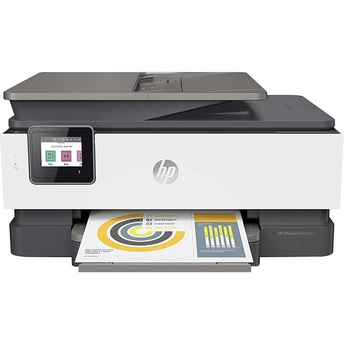 Hewlett Packard OfficeJet Pro 8025 All-in-One Wireless Smart Printer for Home and Office 1KR57A