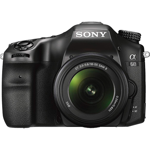 Sony ILCA68K/B 24.2 Digital Camera Optical with 2.7` LCD - Black