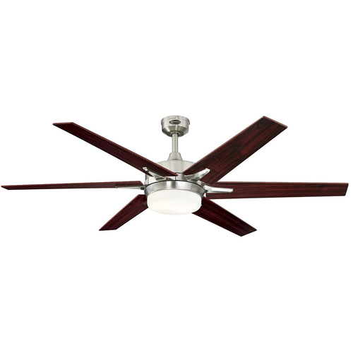 Westinghouse Cayuga 60` Indoor Ceiling Fan w Dimmable LED Lights & Reversible Blades 7207700