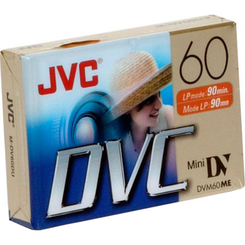 JVC Mini DV 60-Minute Digital Video Cassette