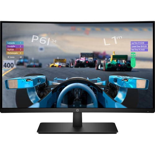 Hewlett Packard 27X FHD Curved 27` Monitor with AMD Freesync Technology