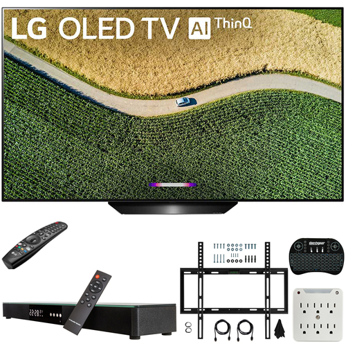 "LG 55"" 4K OLED TV + Soundbar + Remote + Wall Mount"