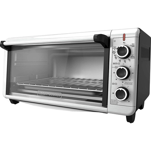Applica BD Extra Wide Toaster Oven Slv