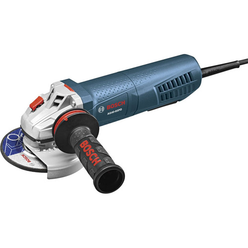 Bosch 4-1/2` Angle Grinder with No-Lock-on Paddle Switch