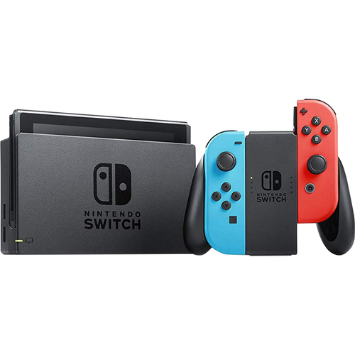 Switch 32 GB Console with Neon Blue and Red Joy-Con