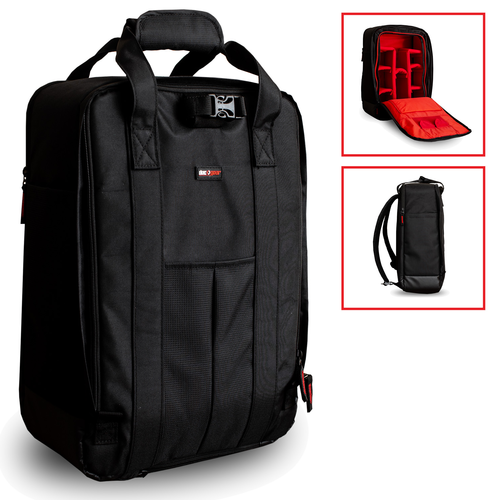 DSLR Camera Backpack - Stylish Weatherproof Bag for Hiking, City, Travel