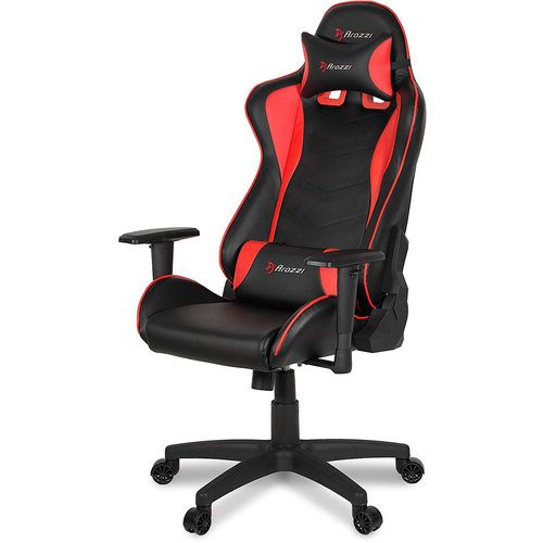 Arozzi Forte Racing Style Gaming Chair with High Backrest - Red