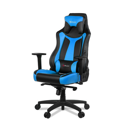 Arozzi Vernazza Series Super Premium Gaming Racing Style Swivel Chair, Blue
