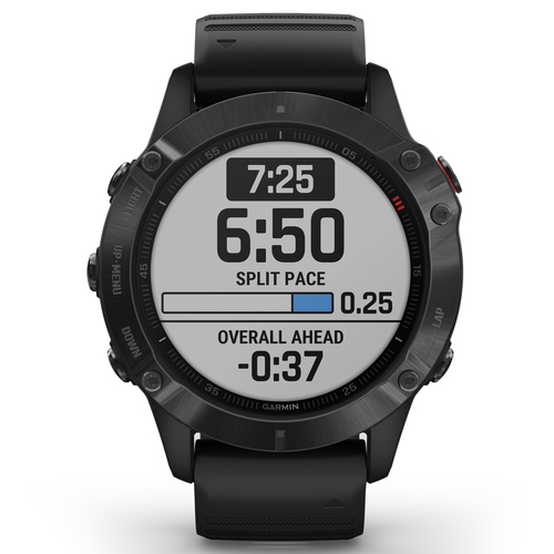 Garmin Fenix 6 PRO Multisport GPS Smartwatch Black with Black Band
