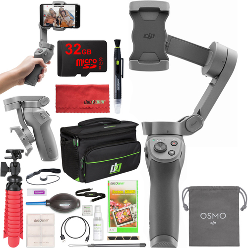 DJI OSMO Mobile 3 Handheld Gimbal 3-Axis Stabilizer Smartphone Essentials Bundle