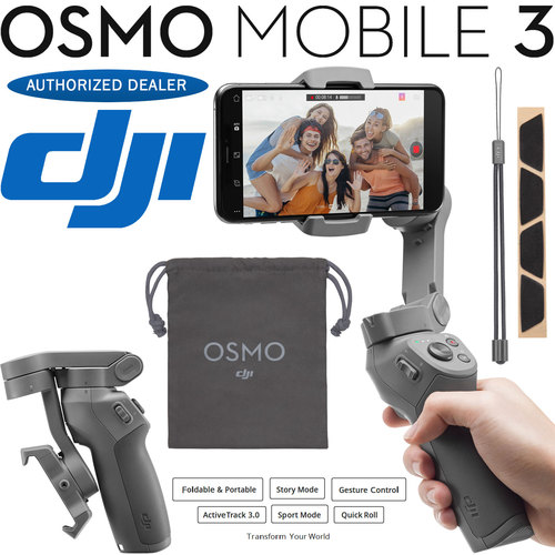 DJI Osmo Mobile 3 Gimbal Stabilizer for Smartphones - CP.OS.00000022.01