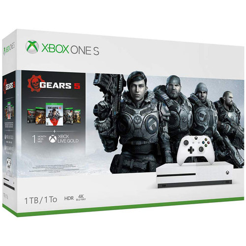 Xbox One S 1TB Console Gears 5 Bundle