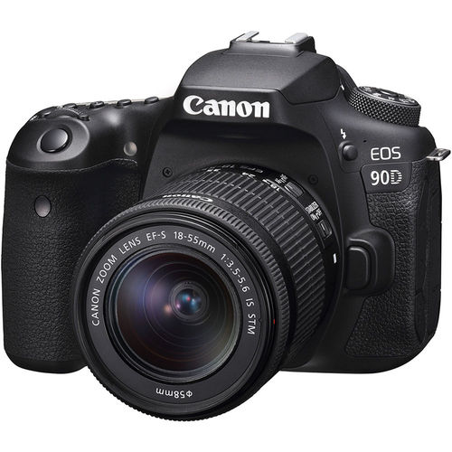 Canon EOS 90D 32.5MP CMOS Digital SLR Camera with EF-S 18-55mm f/3.5-5.6 IS STM Lens