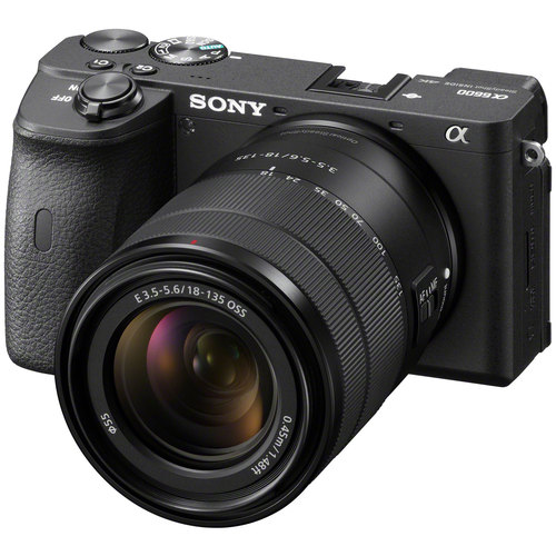 Sony ILCE-6600B a6600 APS-C Mirrorless Interchangeable-Lens Camera + 18-135mm Lens