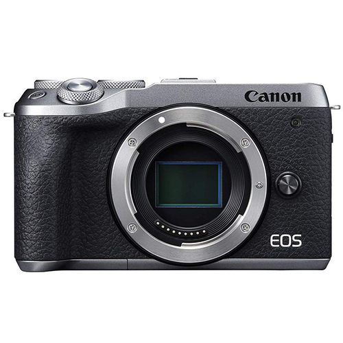 Canon EOS M6 Mark II Camera Body 32.5 MP 4K Video Compact Mirrorless (Silver) 3612C001