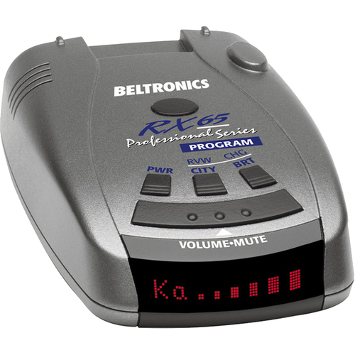 Beltronics RX65 Red Professional Series Radar/Laser Detector - Open Box