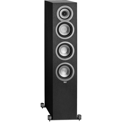 Elac 5 1/4` Concentric 3-Way Floorstanding Speaker UF51-BK - Open Box