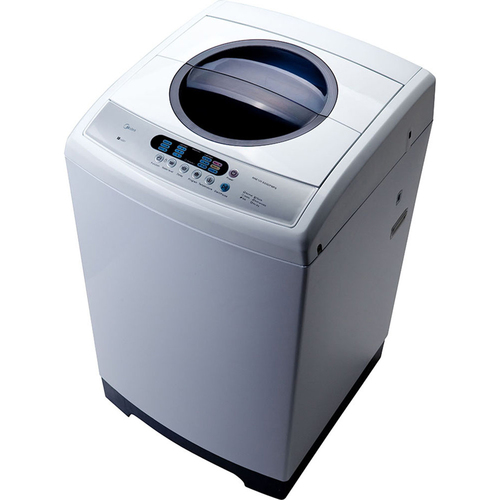 Midea 1.6 cu ft Top Loading Portable Washing Machine | Stainless Steel - Open Box