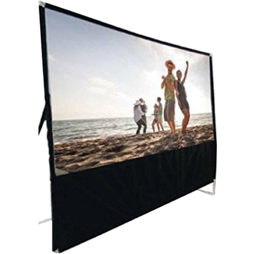 RCA RPJ123 100` Diagonal Portable Projector Screen - Open Box