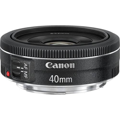 EF 40mm f/2.8 STM Pancake Lens, Canon Authorized