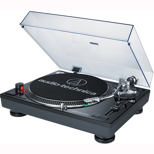 Audio-Technica ATLP120USB Professional Stereo Turntable w/ USB LP to DIG Recording REFURBISHED