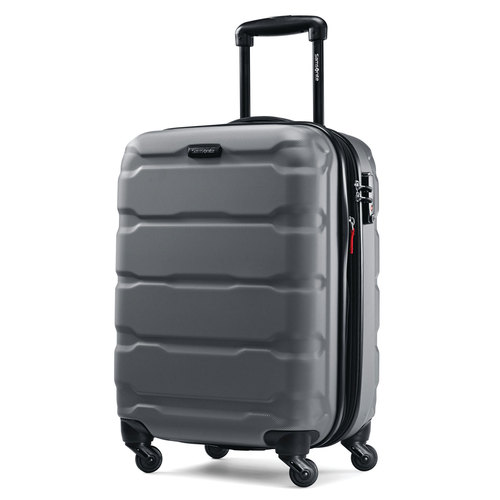 Samsonite Omni Hardside Luggage 20` Spinner Charcoal 68308-1174