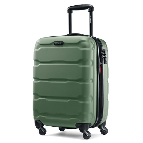 Samsonite Omni Hardside Luggage 20` Spinner Army Green 68308-2209