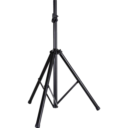 Pyle PSTND2 - 6.5 ft. Tripod Speaker Stand Maximum Strength & Security - Black
